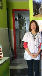 Inma Pérez, gerente de la C.V. Plaza de España